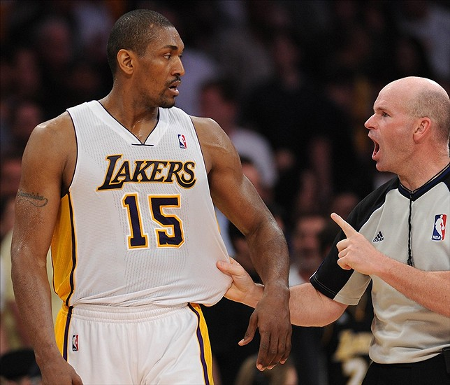 dee8409a7 Metta World Peace Suspended for Seven Games