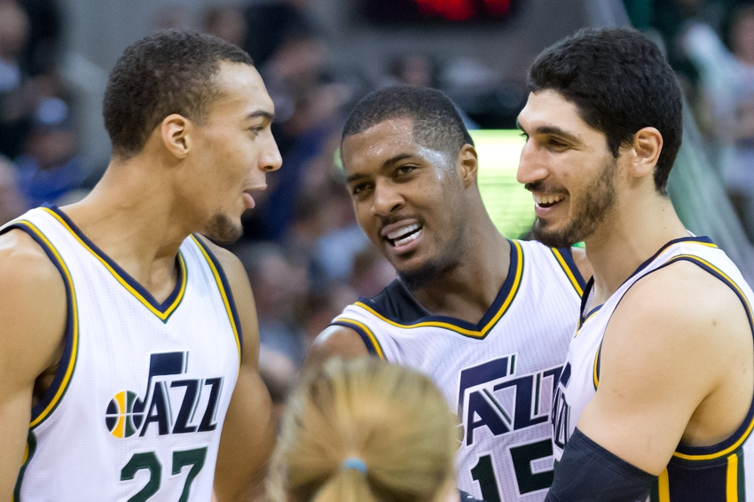 Enes Kanter Trade Bait With Emergence Of Rudy Gobert?