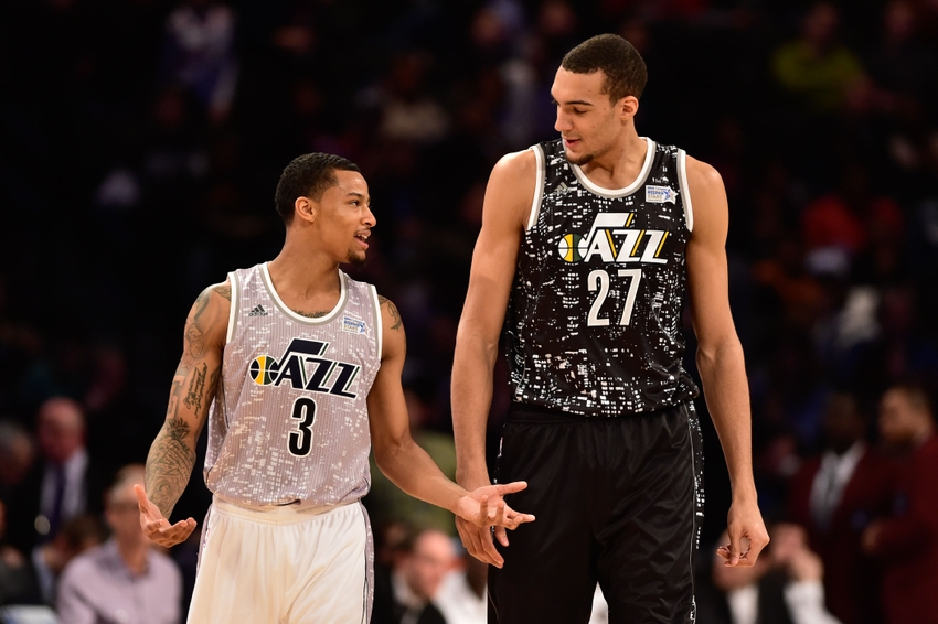 trey-burke-rudy-gobert-nba-all-star-game