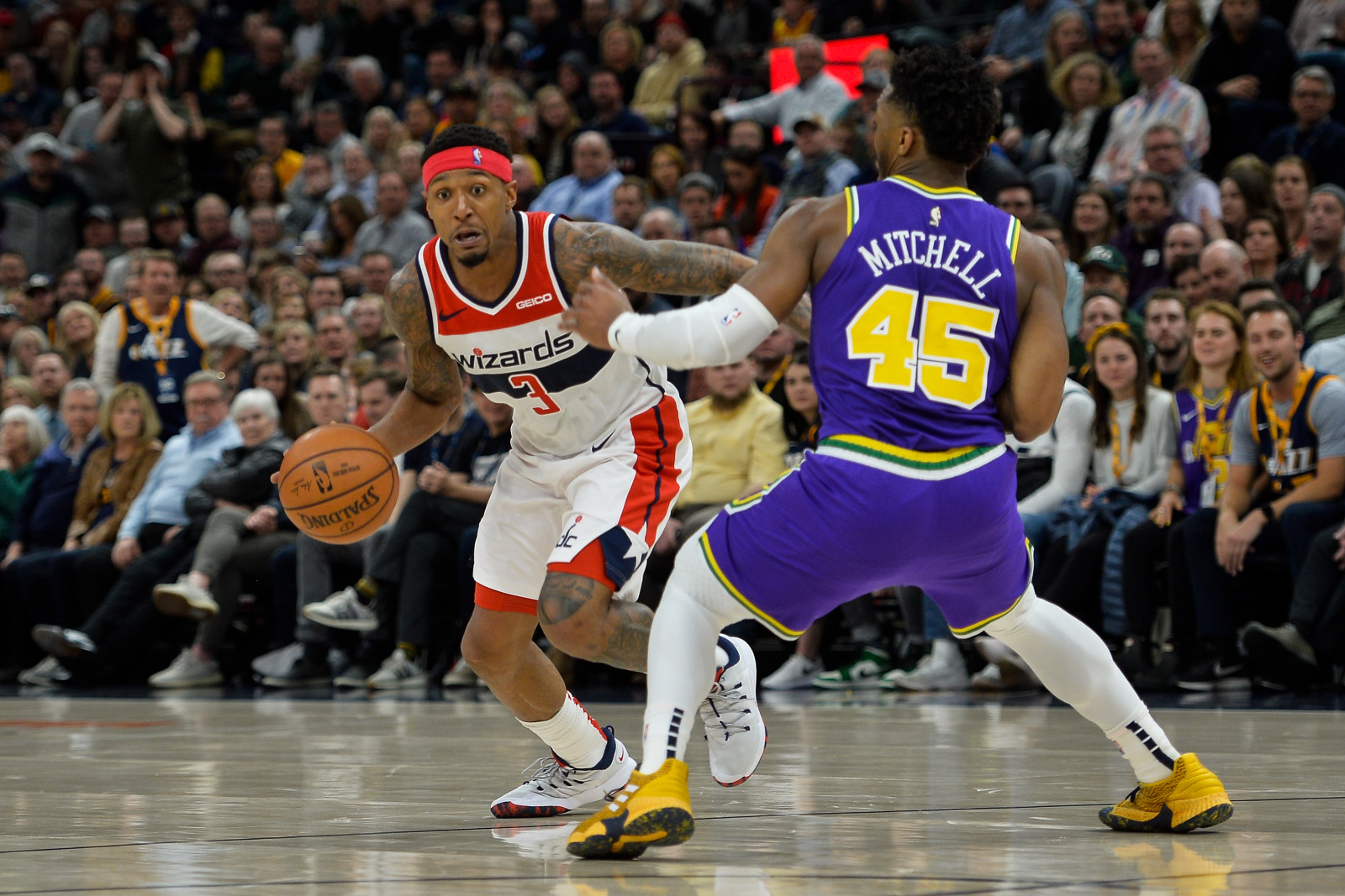 Can Donovan Mitchell out-duel Bradley Beal in tonight's bout?