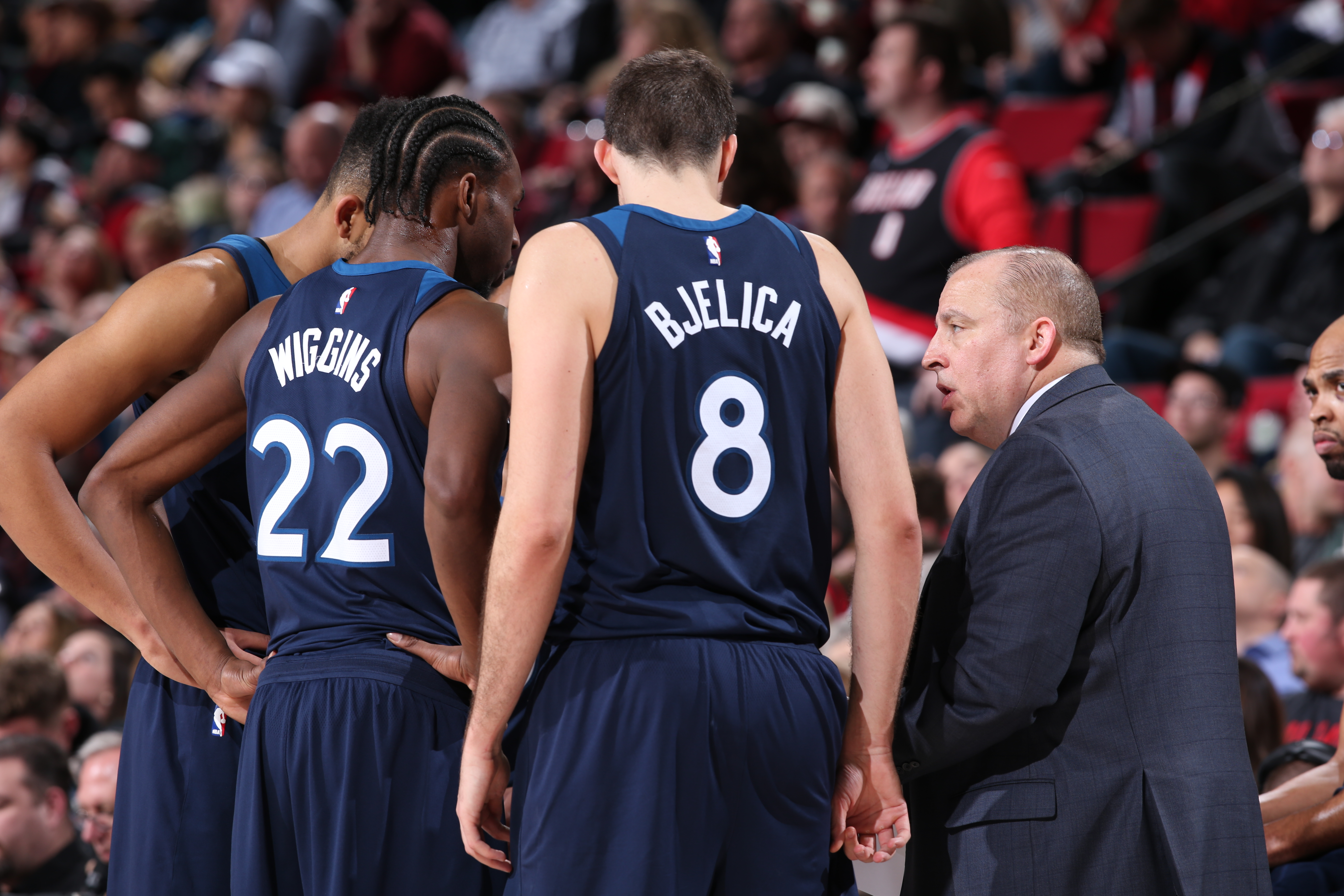 Ejections, tweets mark Wolves' loss to Jazz