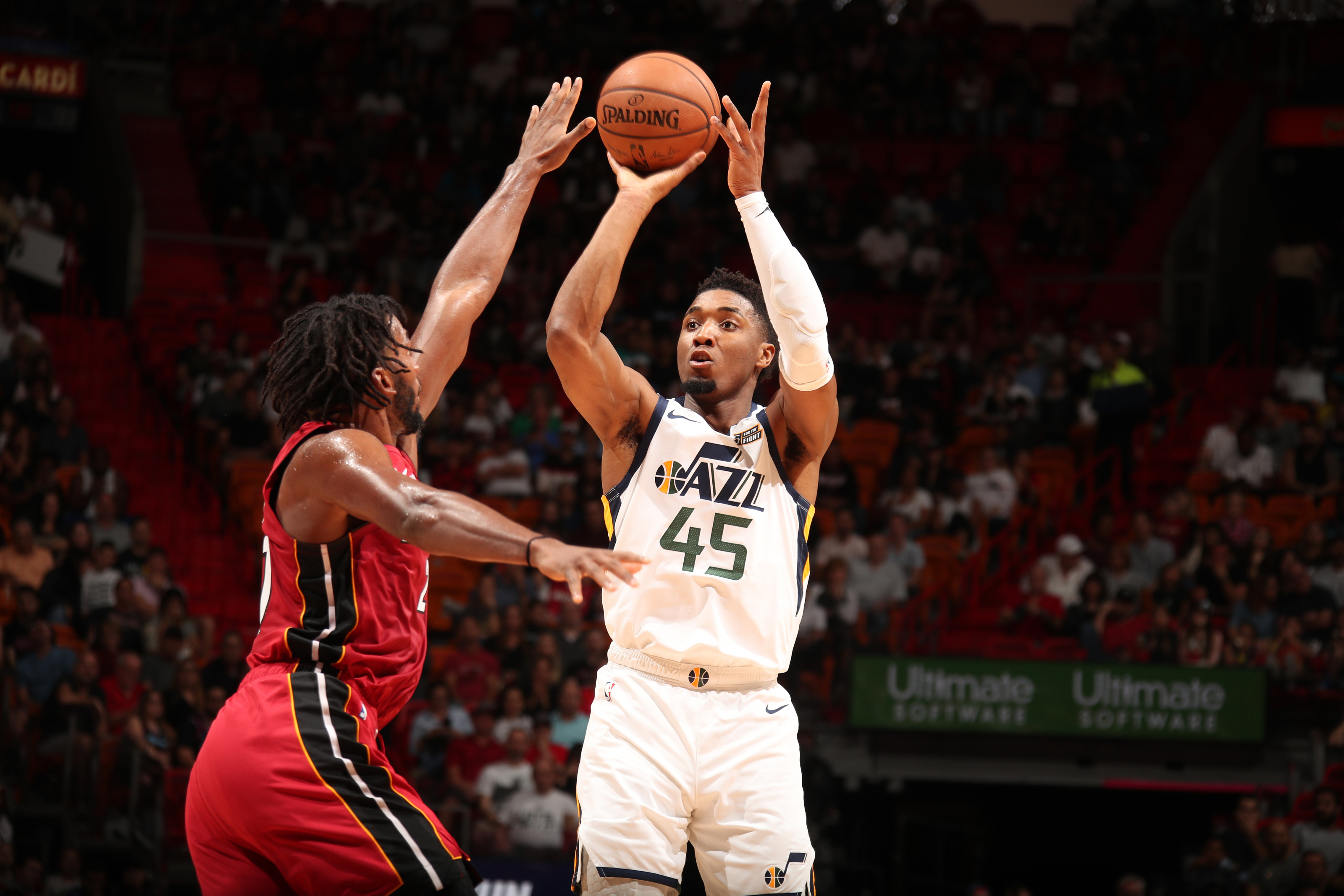Utah Jazz Why Donovan Mitchell Has Unfair Expectations As A 3 Point Shooter